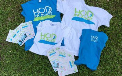 Naruči majicu s ovogodišnjeg Hoda za život!