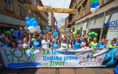 Hod za život – Tisuće i tisuće ljudi slavi život u Zagrebu i Splitu