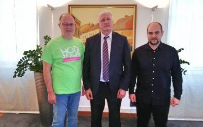 Vukovarsko-srijemski župan Božo Galić dao podršku Hodu za život!