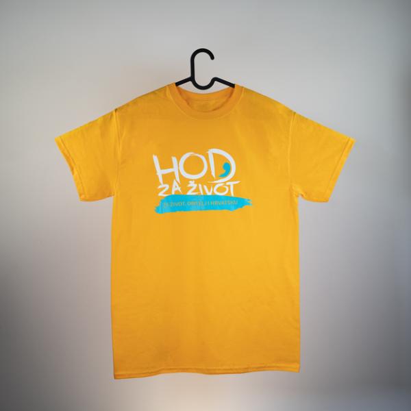 Majica s natpisom Hod za život