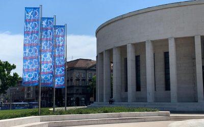 Zastave Hoda za život ponovno izvješene u hrvatskoj metropoli
