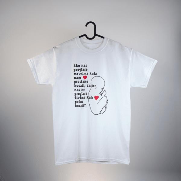 Majice s natpisom