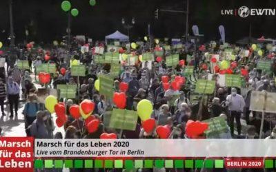 (VIDEO) U Berlinu na Hodu za život sudjelovalo preko 3000 ljudi