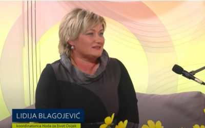Blagojević: 'Svima nedostaje zvuk života koji možemo čuti u povorkama Hoda za život'