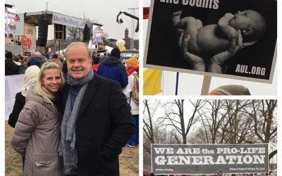 Američki glumac Kelsey Grammer, popularni 'Fraiser', hoda za život zajedno s obitelji
