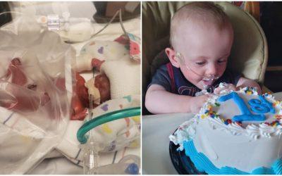 Rođen nakon samo 21 tjedna i 2 dana trudnoće: Mali Richard danas je zdrav dječačić